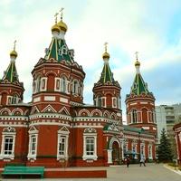 Казанский собор в Волгограде.