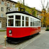 Памятник трамваю
