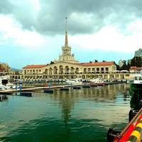 На улицах Сочи. Морской порт. Мамайка.