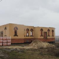 Муравлево. Строительство нового храма.
