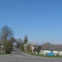 Въезд в деревню Улезлы