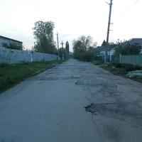 2 мая 2016.Вид на запад вдоль ул. Воровского от переулка им. Гагарина.