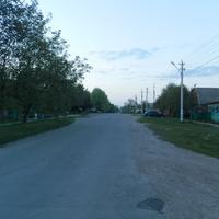 2 мая 2016.Улица  Энгельса.Вид на север от ул. Воровского.