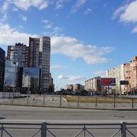 Вид на Комендантский проспект.