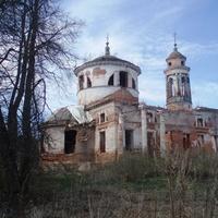 Церковь Знамения,  усадьба Теплое XVIIIв.
