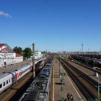 Вокзал.Платформы.