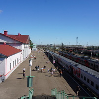 ж\д вокзал.