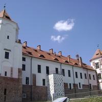 Мирский замок, вид сзади