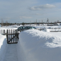 Белоборск в снегу