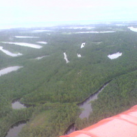 полёт над тундрой