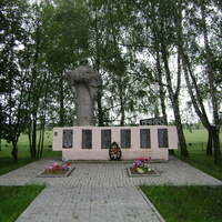 Памятник на въезде в Швабы