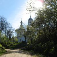 Церковь Николая Чудотворца в Кусуново