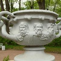 "Чаша перед павильоном ""Вольер"""