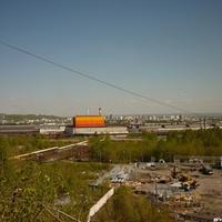 Вид на город с горы КМК