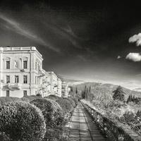 Крым. Ливадийский дворец зимой