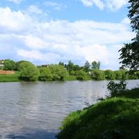 Усадьба Ивановское, река Пахра