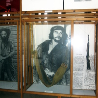 В музее революции. Тринидад. Куба