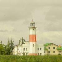 Бердянск. Дальняя коса. Маяк бердянский нижний построен в 1838 году