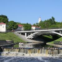 Пушкинский мост(р.Витьба)