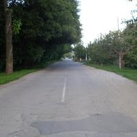 Синельниково.05.06.2016.улица 8 марта.Вид на восток от газконторы.