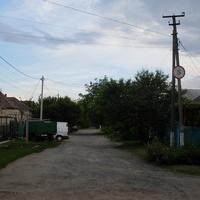 Синельниково.05.06.2016.Улица Глинки.Вид на юг от улицы 8 Марта.