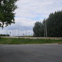 Синельниково.10.06.2016.Переездной мост в центре.