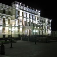 облисполком ночью