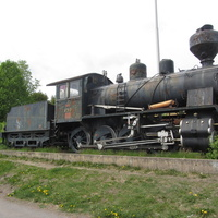 Паровоз-памятник Tk3-859