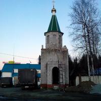 Московский тракт. Поворот на д. Сажина. 2016 г