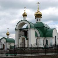 Челябинск. Церковь Святого равноапостольного великого князя Владимира. 10 июня 2008 года