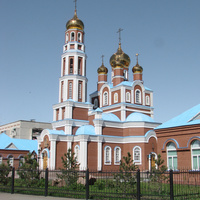 Казахстан. Петропавловск. Кафедральный собор Вознесения Господня. 16 июня 2008 года
