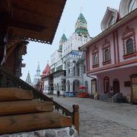 Москва. В Измайловском кремле.   12 октября 2012 года
