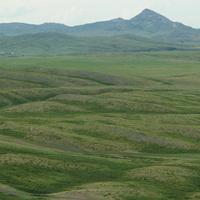 Гора Сагыр 880м.(Сорокин.Кызыл-Тас).