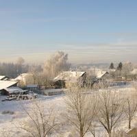 Посёлок Воробьёво Зимний пейзаж