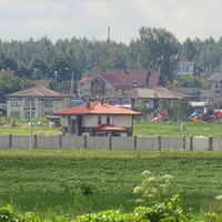 Вид на посёлок