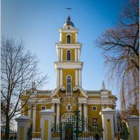 Католический собор Святой Троицы в г. Паневежис.Литва.