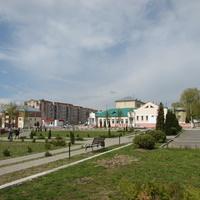 На центальной площади Славгорода