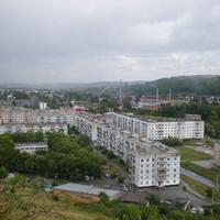 Гурьевск, вид с горы