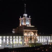 Волгоград. Железнодорожный вокзал.   12 мая 2007 года