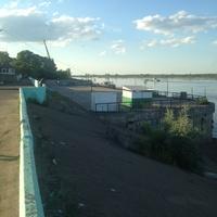 Пристань речного порта