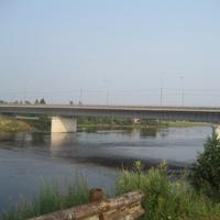 Мост через реку Сясь