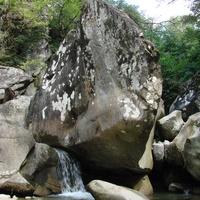 Речка Куапсе близ Мамедовой Щели (Сочи, Лазаревский район).   23 августа 2010 года