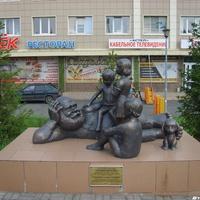 """Скульптурная композиция """"Сказки детства"""""""