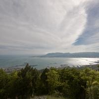 Колдун гора. Вид с противоположной стороны бухты.