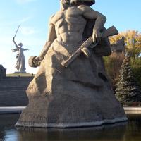 Мамаев Курган.  28 октября 2007 года