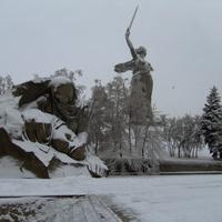 Мамаев Курган.  15 декабря 2007 года