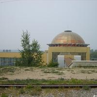 Купол ЖД вокзала Уфа
