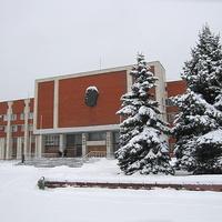 Орехово-Зуево, административное здание зимой