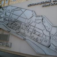 История Волгограда в камне