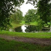 Пруд в Фермском парке